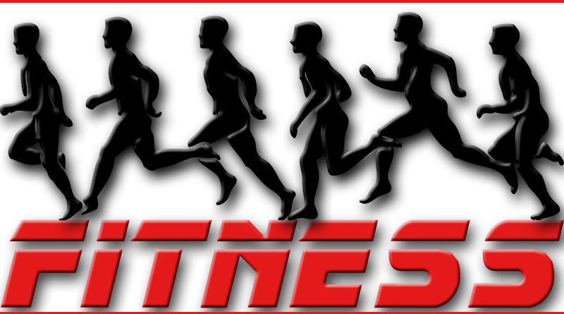 Fitness Runner Läufer Langstreckenläufer Schriftzug