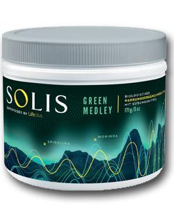 Superfood Solis Green Medley Pflanzenextrakte Nährstoffdichte
