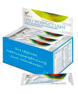 Daily Biobasics light Portionspäckchen fitness food fun